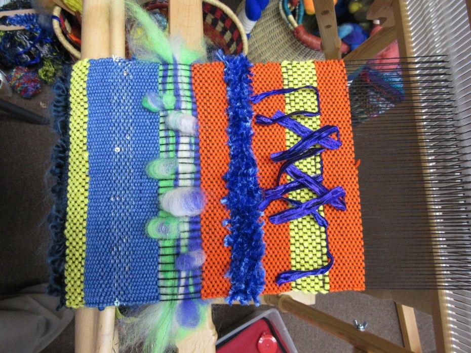 Day 5 Saori Weaving Class